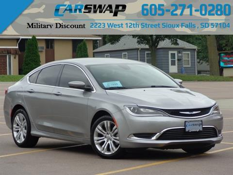 2015 Chrysler 200 For Sale >> 2015 Chrysler 200 For Sale In Sioux Falls Sd