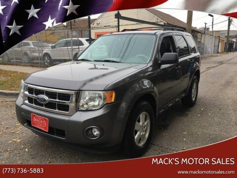 2010 Ford Escape XLT for sale at MACK'S MOTOR SALES in Chicago IL