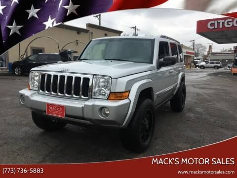 2010 Jeep Commander Sport for sale at MACK'S MOTOR SALES in Chicago IL