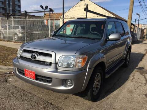 2007 Toyota Sequoia SR5 for sale at MACK'S MOTOR SALES in Chicago IL