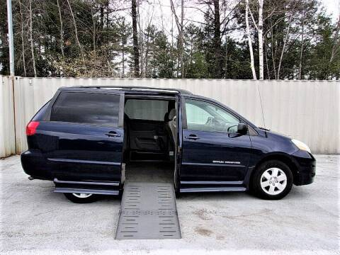 2006 Toyota Sienna LE 7 Passenger for sale at 1 Handicap Vans.com in Brentwood NH