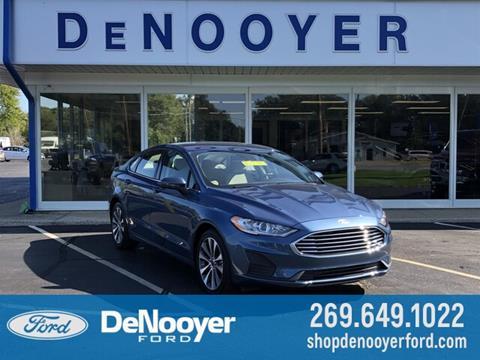 2019 Ford Fusion for sale in Vicksburg, MI