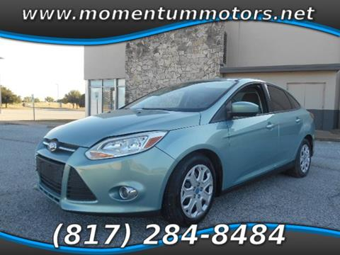 2012 Ford Focus for sale in North Richland Hills, TX