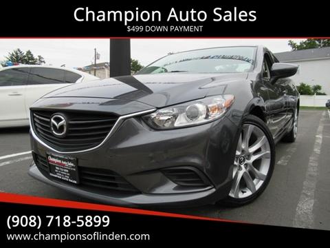 2016 Mazda MAZDA6 for sale in Linden, NJ