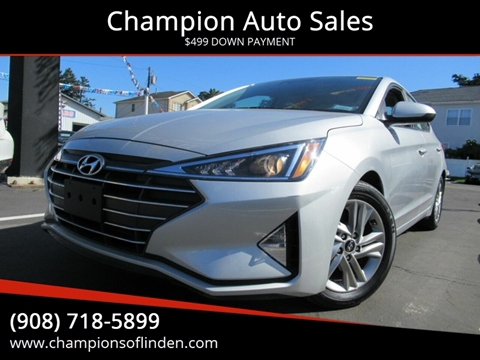 2019 Hyundai Elantra for sale in Linden, NJ