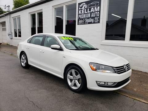 2015 Volkswagen Passat for sale at Kellam Premium Auto Sales & Detailing LLC in Loudon TN