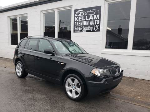 2004 BMW X3 for sale at Kellam Premium Auto Sales & Detailing LLC in Loudon TN