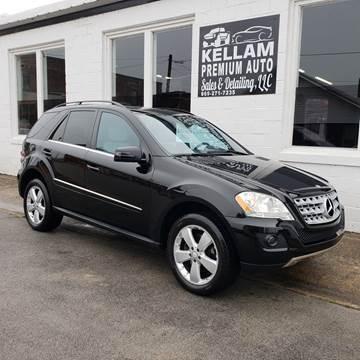 2011 Mercedes-Benz M-Class for sale at Kellam Premium Auto Sales & Detailing LLC in Loudon TN