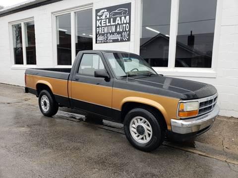 1993 Dodge Dakota for sale at Kellam Premium Auto Sales & Detailing LLC in Loudon TN