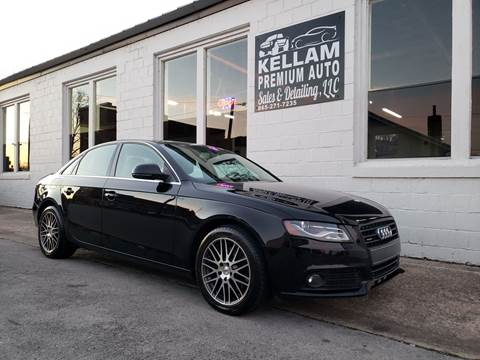 2009 Audi A4 for sale at Kellam Premium Auto Sales & Detailing LLC in Loudon TN