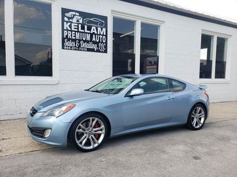 2011 Hyundai Genesis Coupe for sale at Kellam Premium Auto Sales & Detailing LLC in Loudon TN