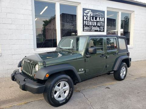 2007 Jeep Wrangler Unlimited for sale at Kellam Premium Auto Sales & Detailing LLC in Loudon TN