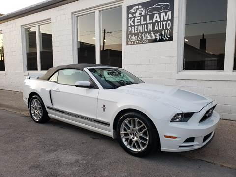 2014 Ford Mustang for sale at Kellam Premium Auto Sales & Detailing LLC in Loudon TN