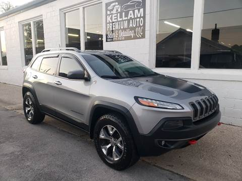 2014 Jeep Cherokee for sale at Kellam Premium Auto Sales & Detailing LLC in Loudon TN