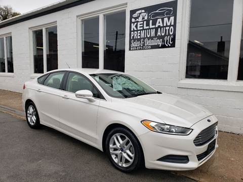 2014 Ford Fusion for sale at Kellam Premium Auto Sales & Detailing LLC in Loudon TN