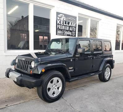 2012 Jeep Wrangler Unlimited for sale at Kellam Premium Auto Sales & Detailing LLC in Loudon TN