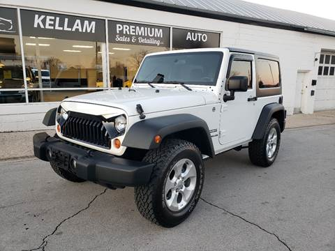 2013 Jeep Wrangler for sale at Kellam Premium Auto Sales & Detailing LLC in Loudon TN