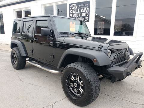 2011 Jeep Wrangler Unlimited for sale at Kellam Premium Auto Sales & Detailing LLC in Loudon TN