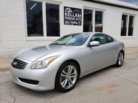 2008 Infiniti G37 for sale at Kellam Premium Auto Sales & Detailing LLC in Loudon TN