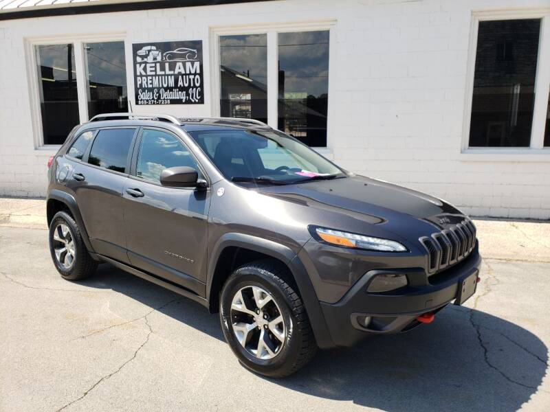 2016 Jeep Cherokee for sale at Kellam Premium Auto Sales & Detailing LLC in Loudon TN