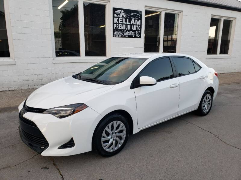 2018 Toyota Corolla for sale at Kellam Premium Auto Sales & Detailing LLC in Loudon TN