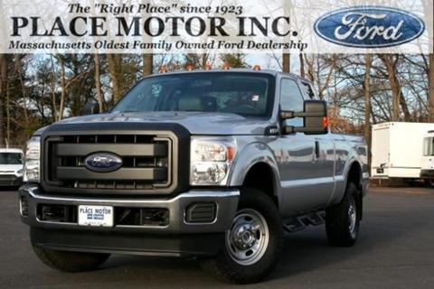 2016 Ford Super Duty >> Used 2016 Ford F 250 Super Duty For Sale In Massachusetts