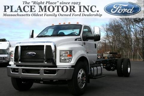 2019 Ford F-750 Super Duty for sale in Webster, MA