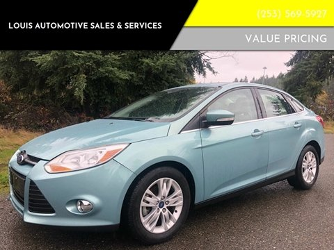 2012 Ford Focus for sale in Federal Way, WA