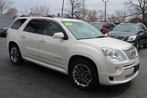 2012 GMC Acadia for sale in Detroit, MI
