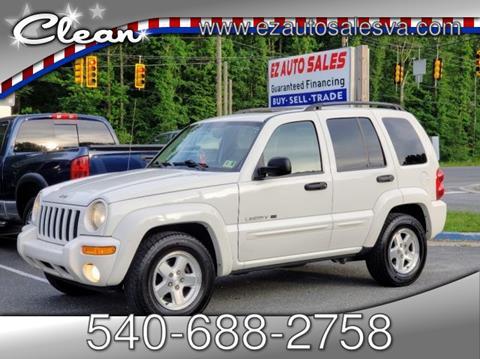 2003 Jeep Liberty for sale in Stafford, VA