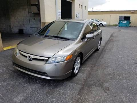 2006 Honda Civic for sale at Alma Car Sales in Miami FL