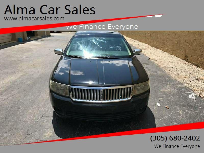 2006 Lincoln Zephyr In Miami Fl Alma Car Sales