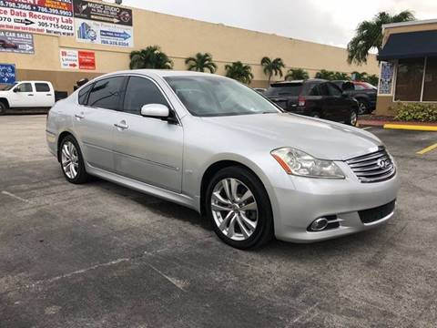 2008 Infiniti M35 for sale at Alma Car Sales in Miami FL