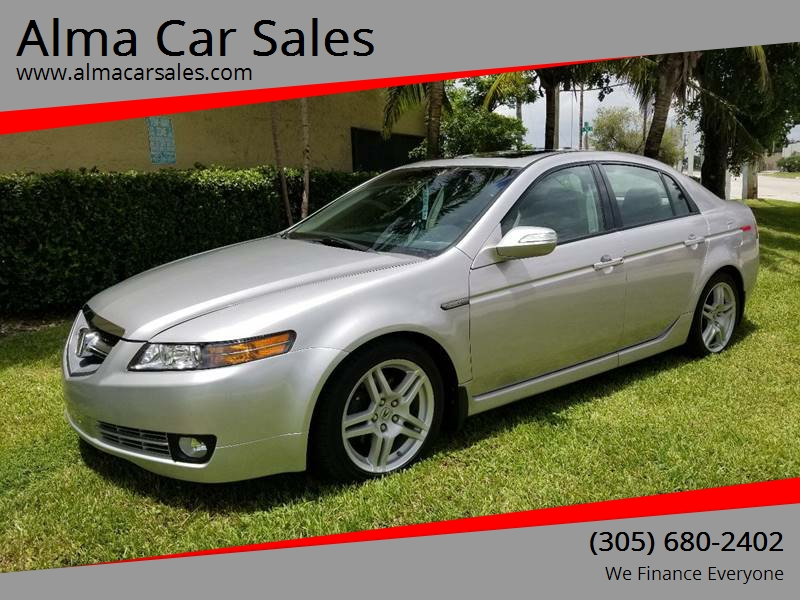 2007 Acura TL for sale at Alma Car Sales in Miami FL