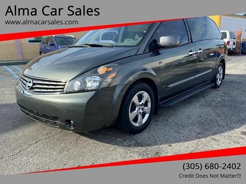 2008 Nissan Quest for sale in Miami, FL