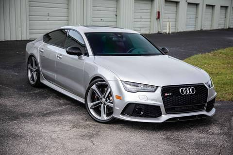 2016 Audi RS 7 for sale at Exquisite Auto in Sarasota FL