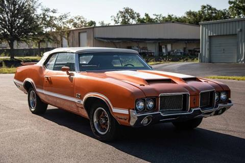 1972 Oldsmobile Cutlass Supreme for sale at Exquisite Auto in Sarasota FL