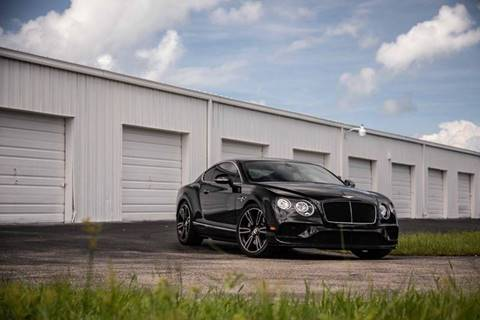 2016 Bentley Continental for sale at Exquisite Auto in Sarasota FL