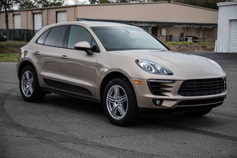 2016 Porsche Macan for sale at Exquisite Auto in Sarasota FL