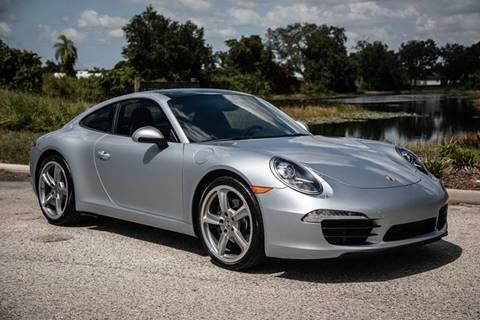 2015 Porsche 911 for sale at Exquisite Auto in Sarasota FL