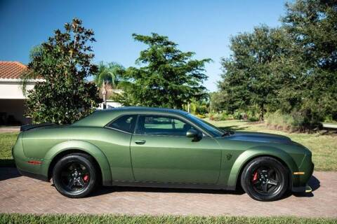 2018 Dodge Challenger for sale at Exquisite Auto in Sarasota FL