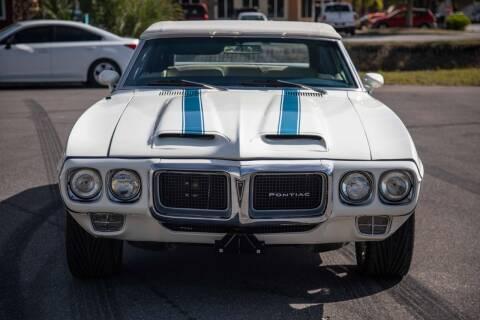 1969 Pontiac Trans Am for sale at Exquisite Auto in Sarasota FL