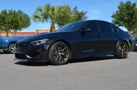 2018 BMW M3 for sale at Exquisite Auto in Sarasota FL