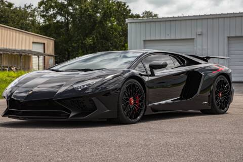 2016 Lamborghini Aventador for sale at Exquisite Auto in Sarasota FL