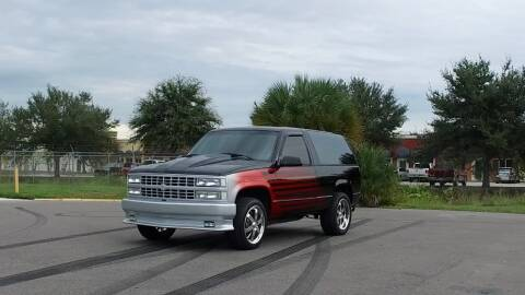 1993 Chevrolet Blazer for sale at Exquisite Auto in Sarasota FL