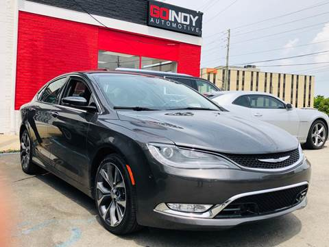 2015 Chrysler 200 for sale in Indianapolis, IN