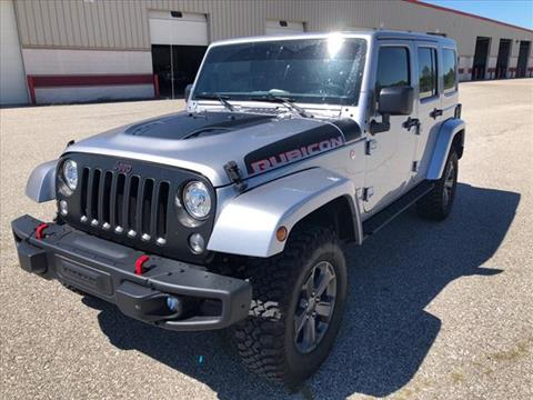 2017 Jeep Wrangler Unlimited for sale at Auto Sales & Service Wholesale in Indianapolis IN