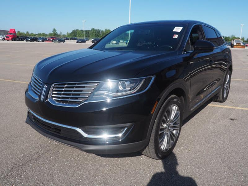 2017 Lincoln MKX for sale at Auto Sales & Service Wholesale in Indianapolis IN