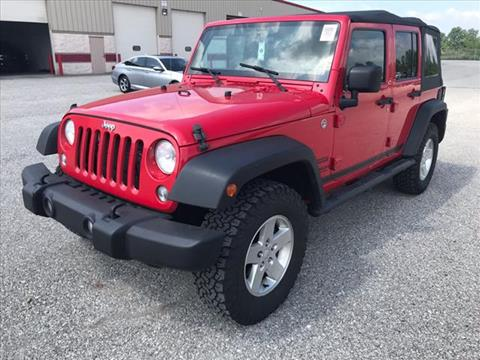 2014 Jeep Wrangler Unlimited for sale in Indianapolis, IN