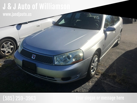 2004 Saturn L300 for sale in Williamson, NY